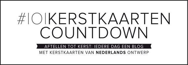 Aftellen tot kerst: iedere dag een blog met kerstkaarten van nederlands ontwerp op het weblog van 101Woonideeën. We count till christmas on our 101weblog with Holidaycards made by Dutch designers and illustrators. #holidaycards #postcards #101kaarstkaartencountdown