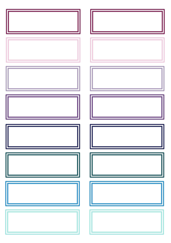 Winter Labels A5 Labels Printables Free School Labels Printables School Labels