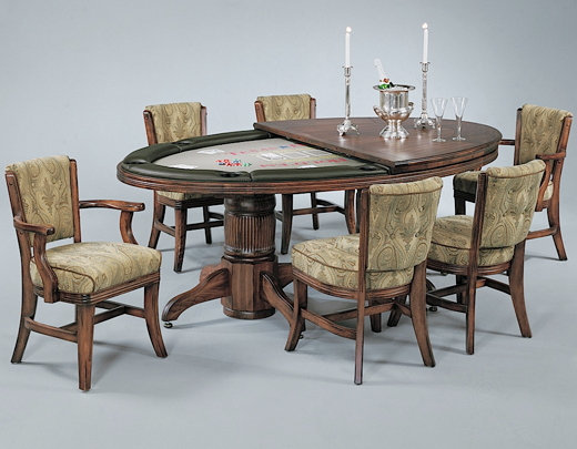 Elliptical Poker Table With Removable Dining Table Top Game Inspiration Cheap Dining Room Tables For Sale Design Inspiration