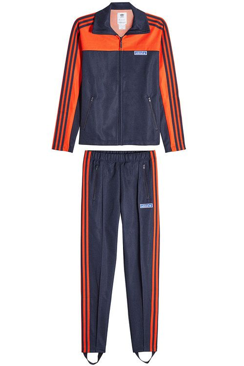 ADIDAS ORIGINALS Zipped Jacket And Track Pants With Stirrups.   adidasoriginals  cloth   c6962b489fe92
