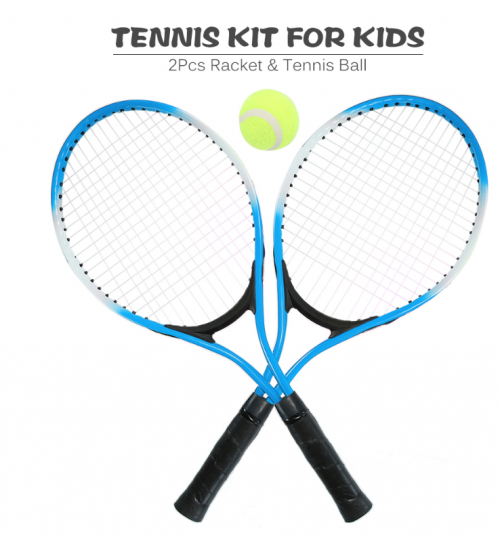 Made Of Quality Alloy For High Strength And Durability Great Stability For Added Control Comes With A 2 4 Tenni Kids Tennis Racket Tennis Racket Kids Tennis