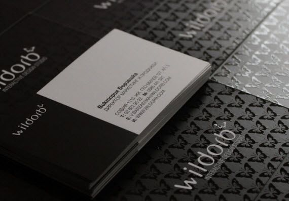 Ghost Images Are Awesome Examples Of Business Cards Minimalist Business Cards Business Card Inspiration