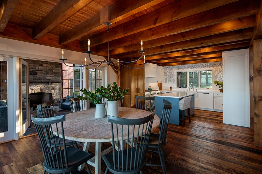 timber frame lake home by normeria timber house lake on interior colors for lake house id=14470