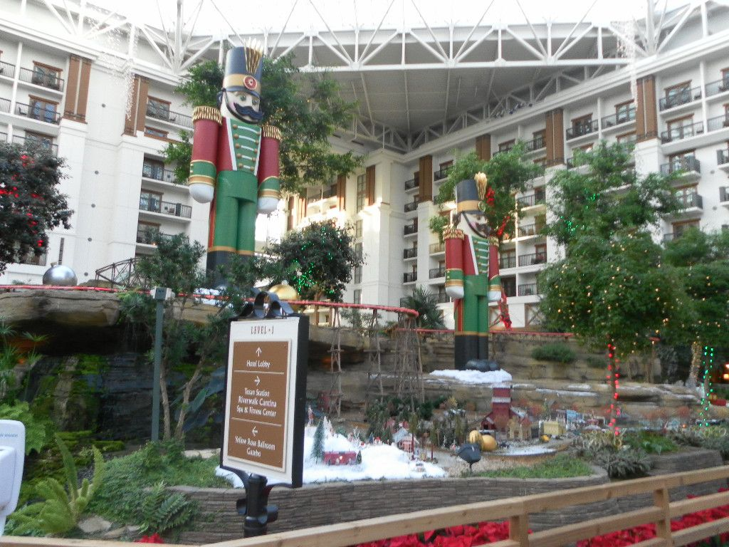 nutcrackers on #christmas duty at the gaylord texan resort and