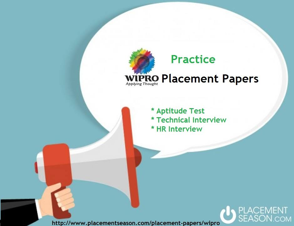 placement paper Well, it follows the same pattern as any analytics company's placement paper twist lies in the level of difficulty, of the questions posed well getting straight to the answer, it tests your 1.