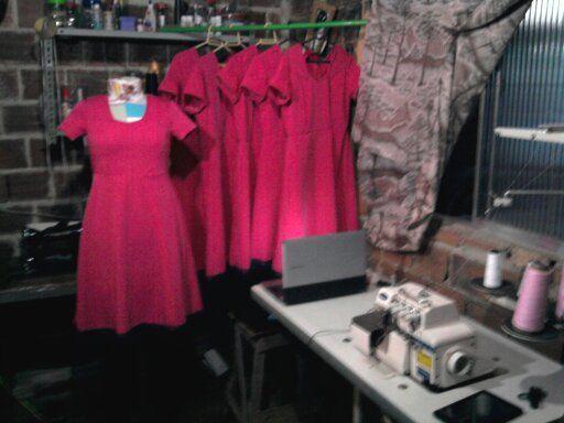 Encomenda que fiz 6 vestidos