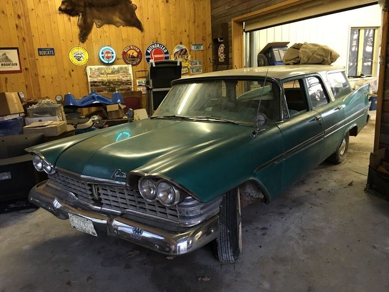 1959 Plymouth Suburban for sale - Maple Lake, MN | OldCarOnline ...