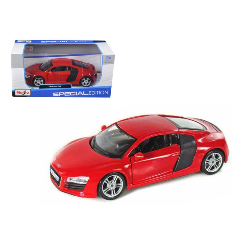 Audi R8 Red 1 24 Diecast Model Car By Maisto Diecast Model Cars Diecast Models Car Model