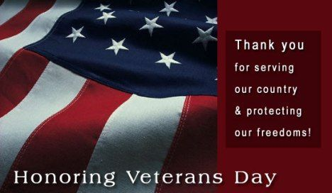 Thank You To Our Veterans Thank You To All Our Veterans