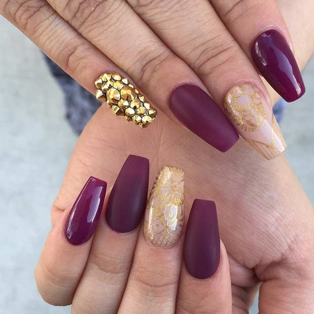 31 Snazzy New Year\'s Eve Nail Designs | Makeup