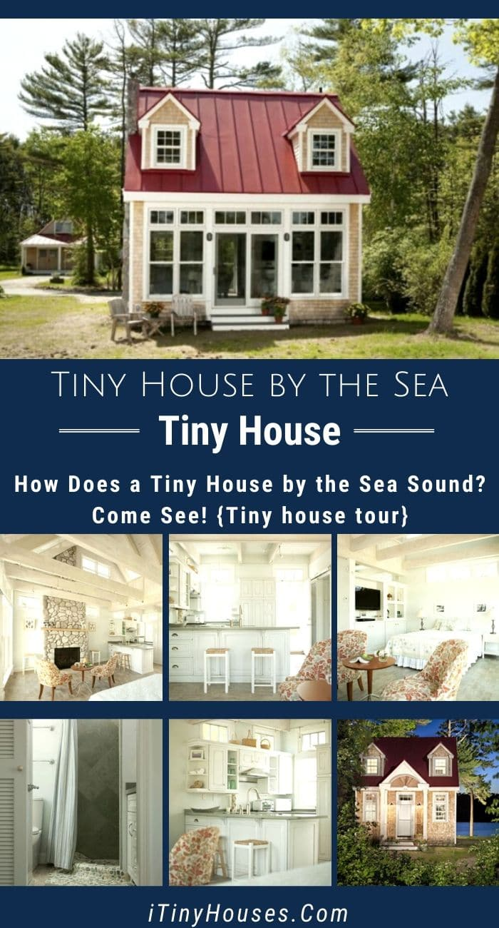 How Does A Tiny House By The Sea Sound Come See Tiny House Tour In 2020 Vacation House Plans Tiny House House Tours