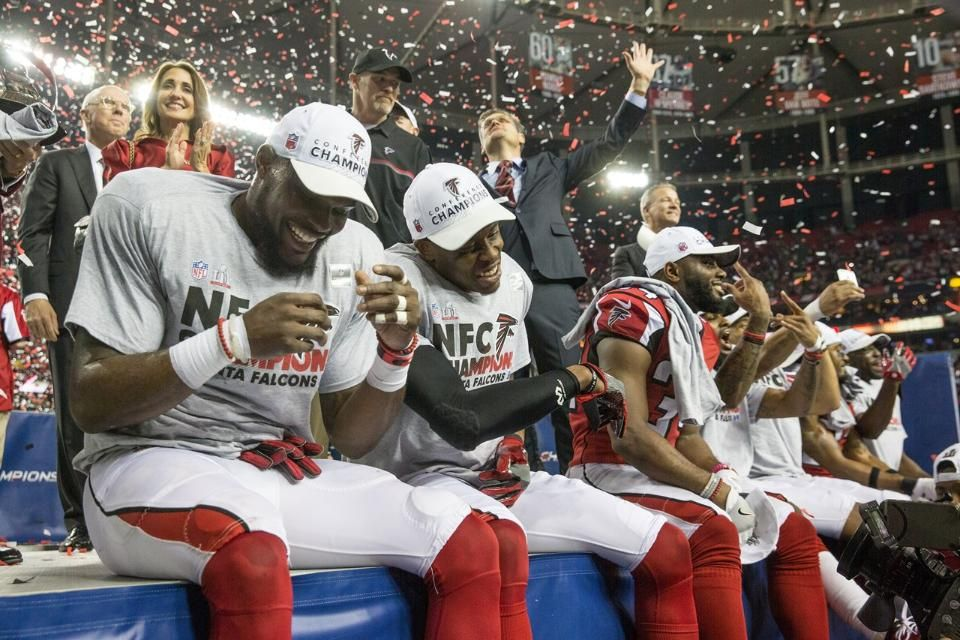 Falcons Win Nfc Championship Against Packers Nfc Falcons Packers