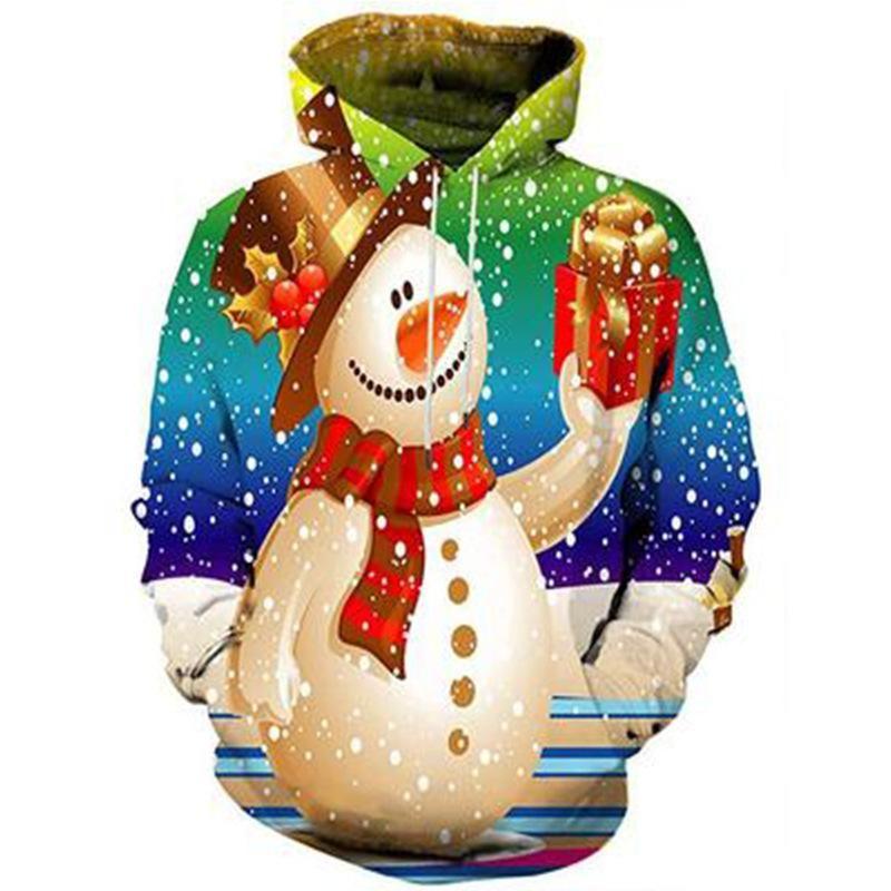 Pullover Sweatshirt Teely Shop Mens Decorations Snowman Christmas Gildan