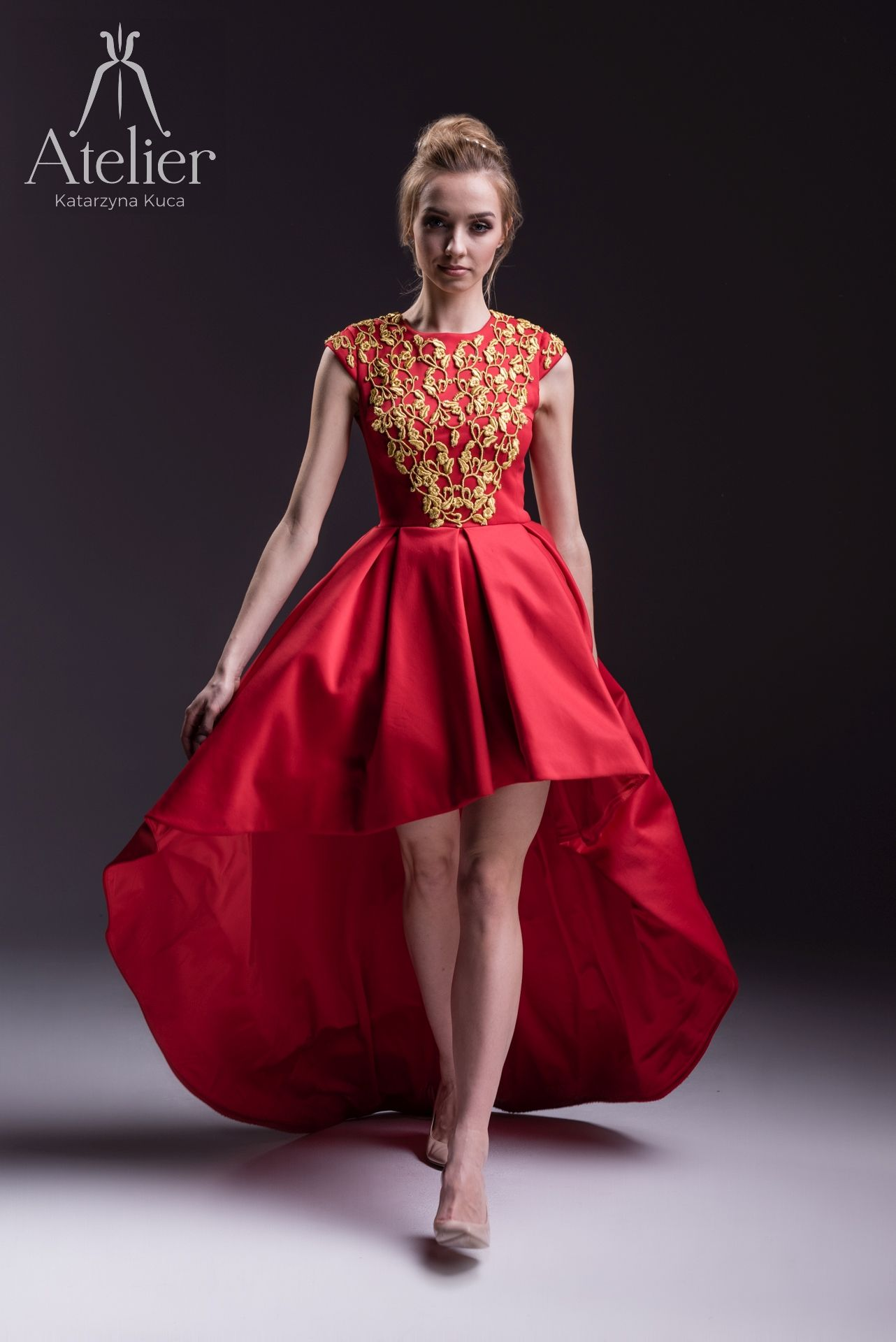 Red and Gold Cocktail Dresses