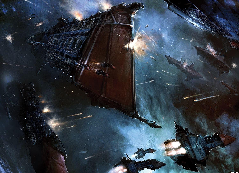 Epic Space War Wallpaper 1080p 59q War In Space Warhammer Warhammer Art