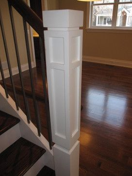 Best Modern Newel Post Google Search Modern Staircase 400 x 300
