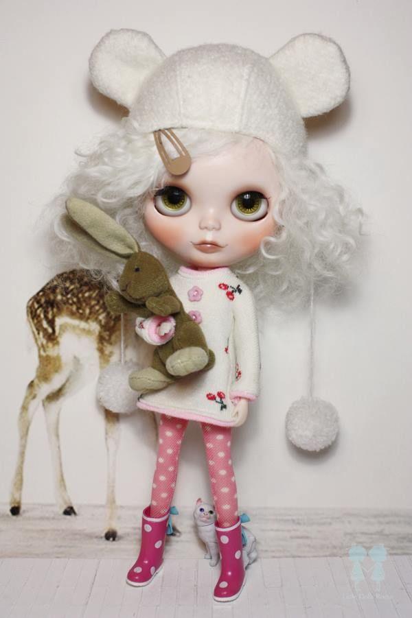 Blythe Doll Custom by : Little Dolls Room #doll #toy #blythe
