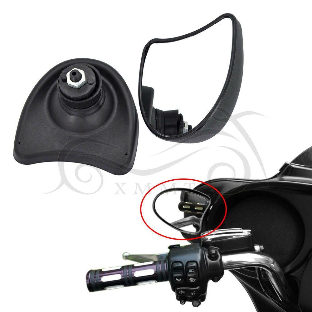 Sponsored(eBay) Black Fairing Mount Mirrors For Harley Ultra