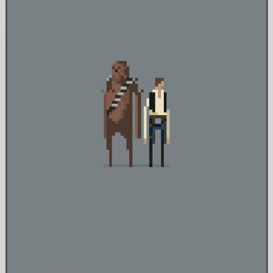 star wars pixel art