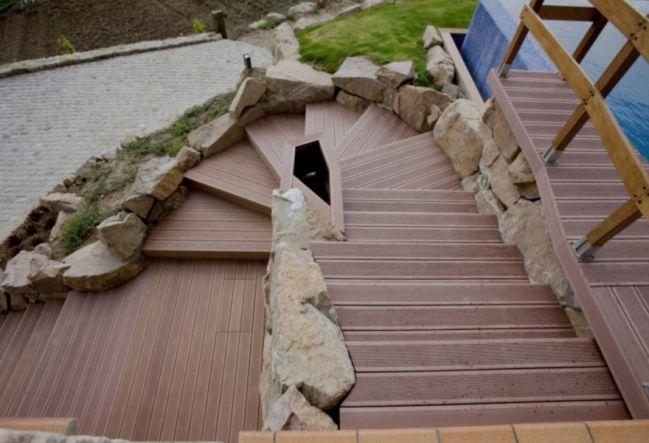escalera para exterior