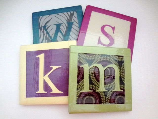 Custom Made Personalized Initials Ceramic by ToosDetectiveAgency, $15.00