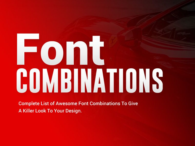 50 Stunning Font Combinations To Inspire Your Next Design 2019 Font Combinations Procreate Brushes Free Free Cursive Fonts