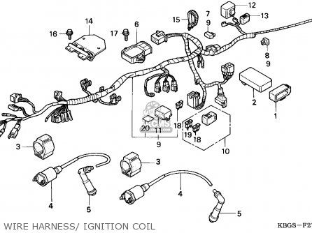 Honda Cb250 Two Fifty 1992 n Spain Wire Harness Ignition Coil   Honda cb250,  Cb250, HondaPinterest