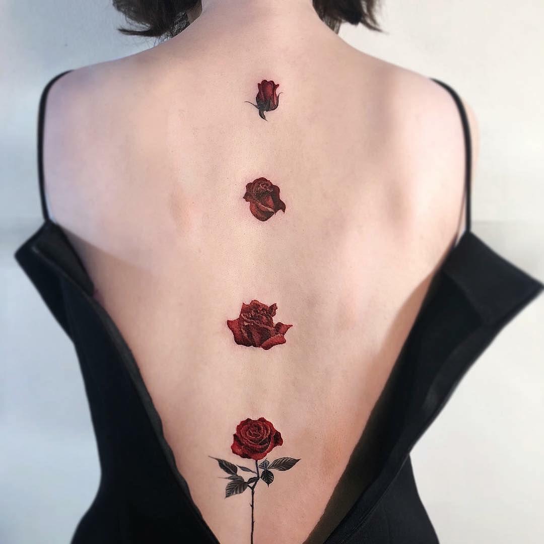 Daddys girl tattoo ideas un altro capolavoro sexy rose tatuaggio tattooartists credit