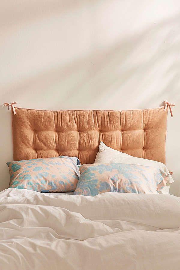 Convertible Flannel Headboard Pillow
