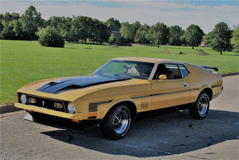 1971 FORD MUSTANG MACH 1 FASTBACK - 210669 (With images ... Mustang Mach 1 Fastback 1971