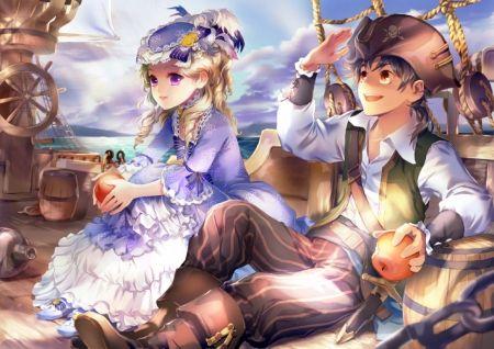 Anime pirate male maiden n pirate other anime - Anime pirate wallpaper ...