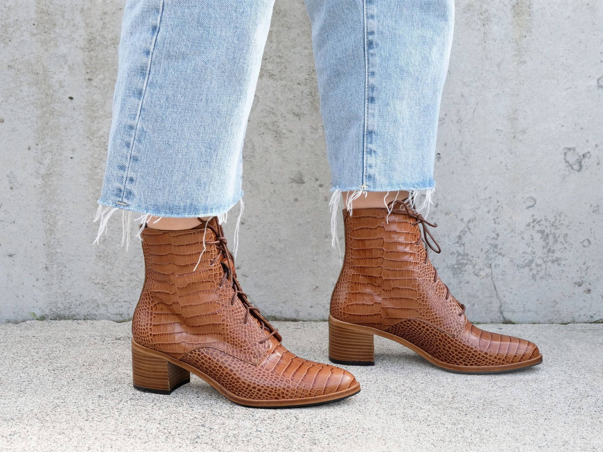 ACE Lace Up Boot – FREDA SALVADOR