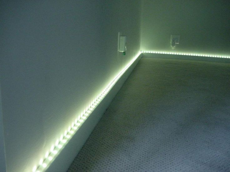 Base Board Cove Lighting Is A Simple Way To Add Class And Style To