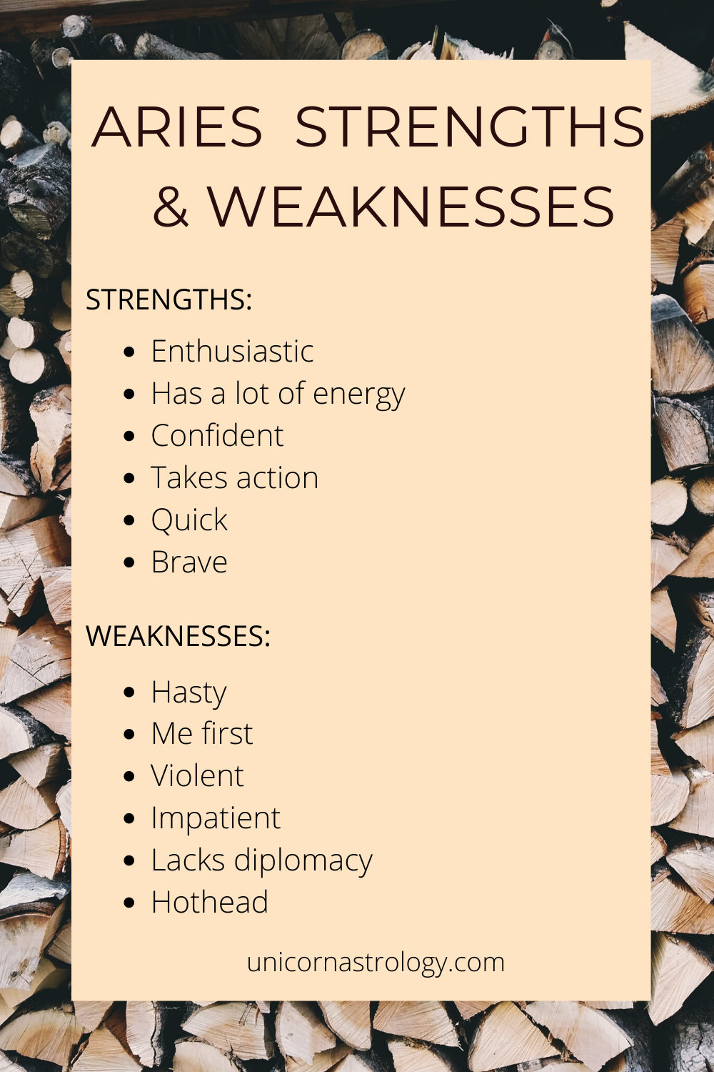 Aries Zodiac Sign Strengths and Weaknesses | Aries zodiac