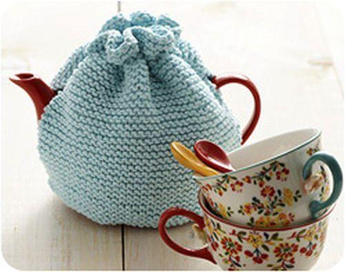 Einfachen Teekannenwärmer Stricken Kannenwärmer Pinterest