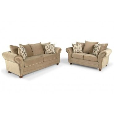 Alexa 2 Piece Bob-O-Pedic Queen Sleeper Set Decorating (Studio 745 - Bobs Furniture Bedroom Sets