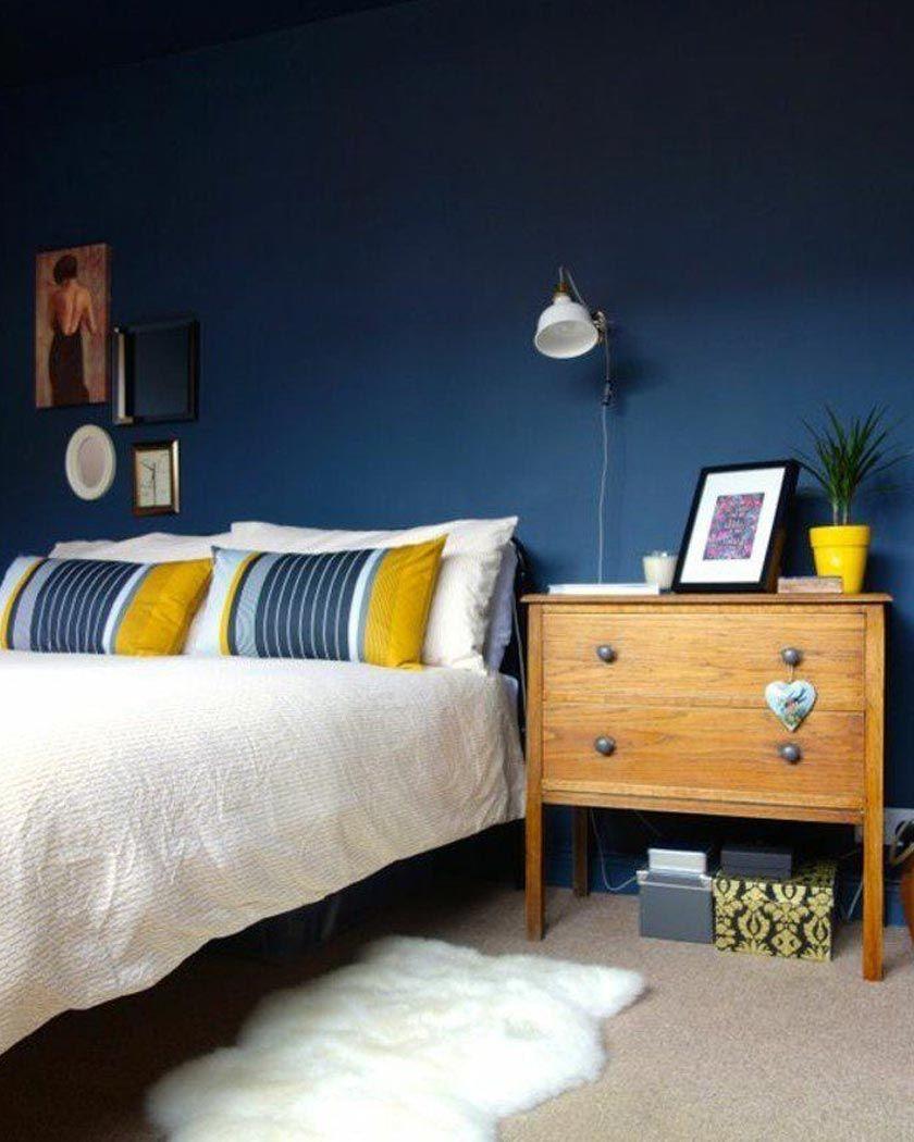 Home Staging Chambre Adulte la couleur jaune moutarde pour une déco affirmée | home