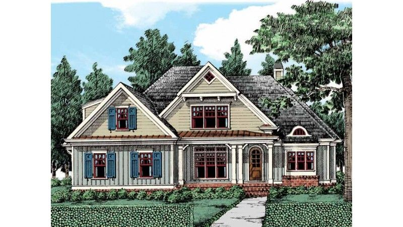 Traditional Style House Plan 4 Beds 3 Baths 2855 Sq Ft Plan 927 26 Country House Plans Southern Living House Plans Craftsman House