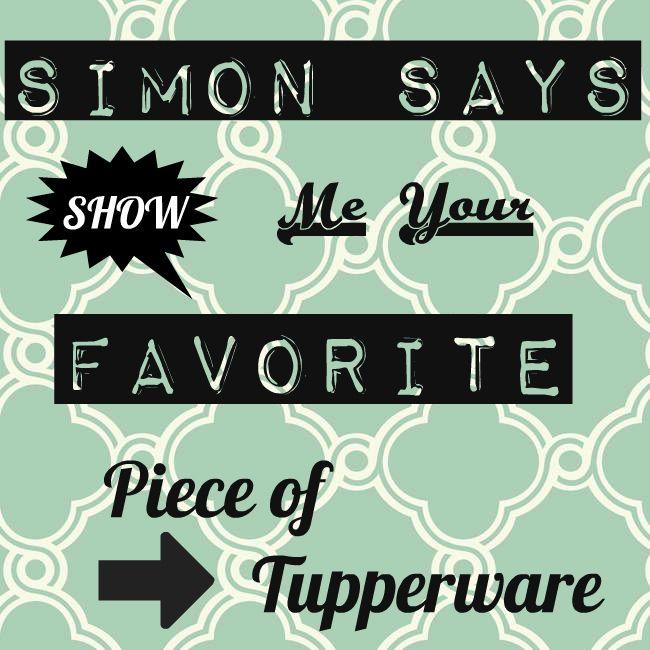 Simon Says - Tupperware <3
