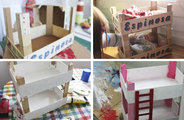 Litera Para Muñecas De Mamà Recicla Kiddo Pinterest Muñecas
