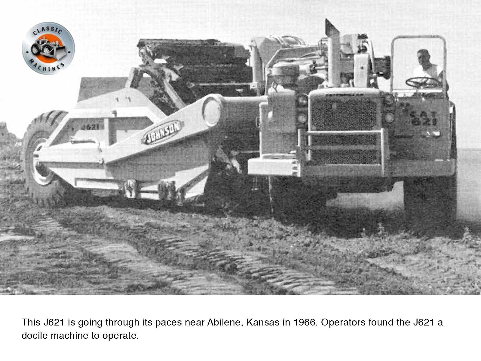 Putting the J621 through its paces near Abilene, Texas.