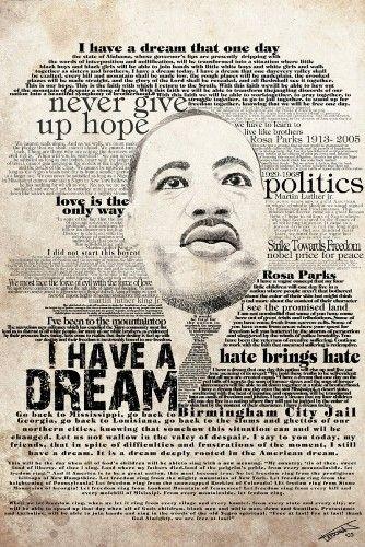 martin luther king jr collage | Black History | Pinterest