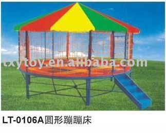tr&oline with tent for kids bed  sc 1 st  Pinterest & oudoor trampoline with tent for kids #jumping bed #trampoline ...