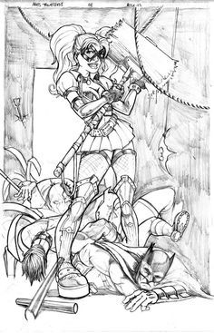 Sexy Harley Quinn Coloring Pages Pin Featured On Harley Quinn