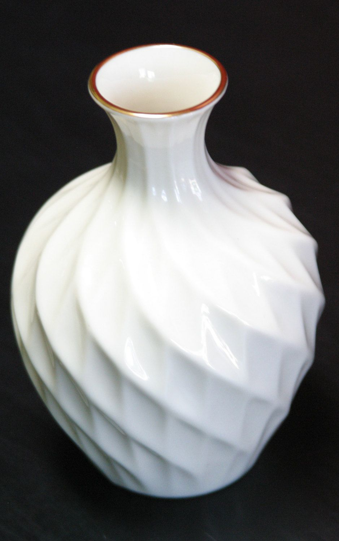 Lenox Spiral Vase Spiral Twist Vase With 24kt Gold Trim Decorative Vase Vintage White Lenox Vase Lattice Vase Home De Vases Decor Lenox Vase White Vintage