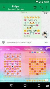 Love Art Emoji Keyboard App play, Emoji keyboard