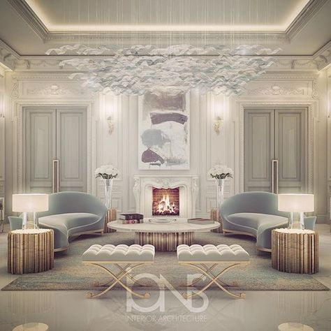 Lounge Design O Private Palace Abu Dhabi