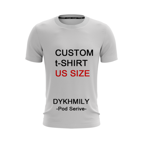 0c6e0e795 Dykhmily Custom Your Design T-shirt 3D Printed TankTop Men Women High  Quality Customsize Casual O-neck Tee Plus Size S-3XL