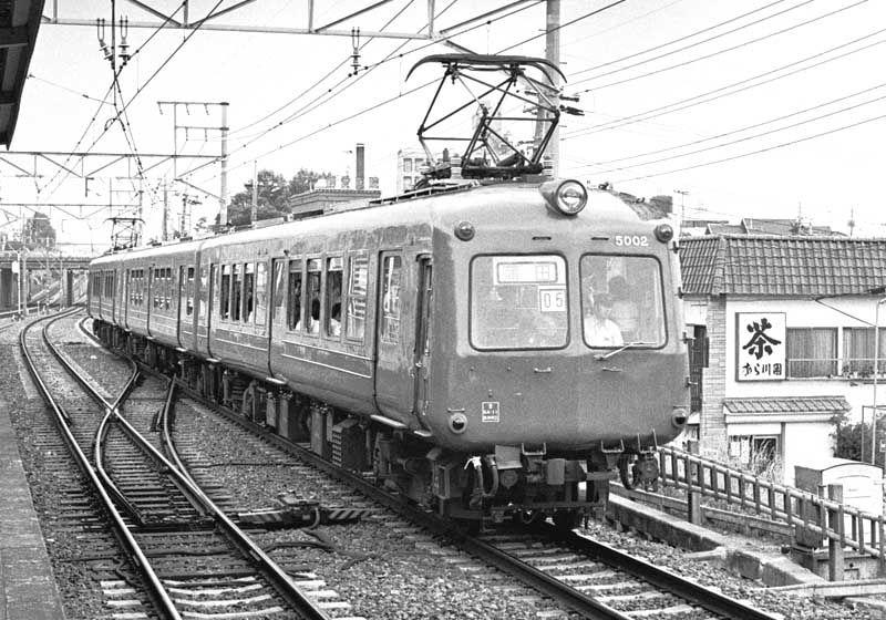 東急目蒲線5000系 鉄道 写真 私鉄 鉄道