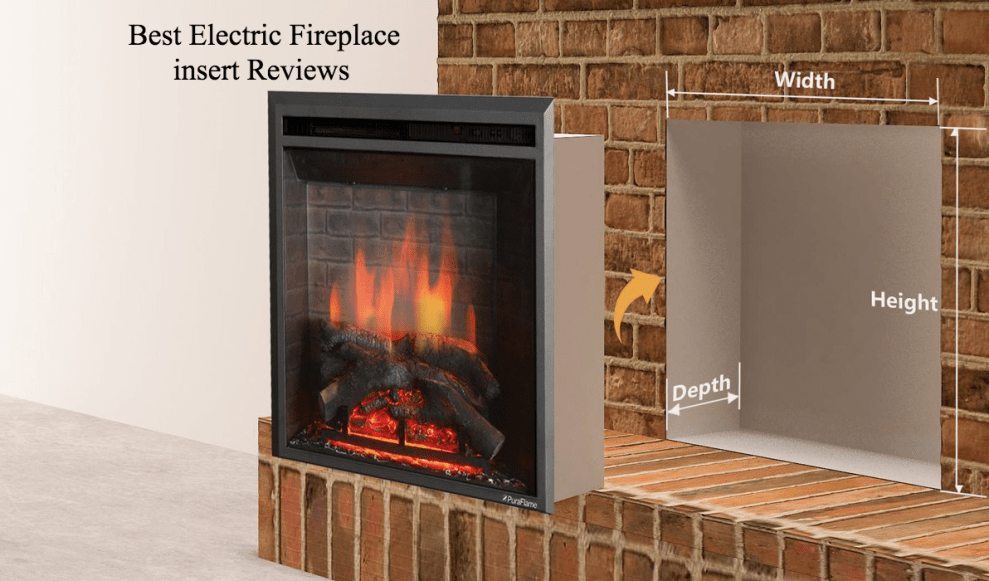 best electric fireplace insert reviews 2017 fireplace corner rh pinterest com